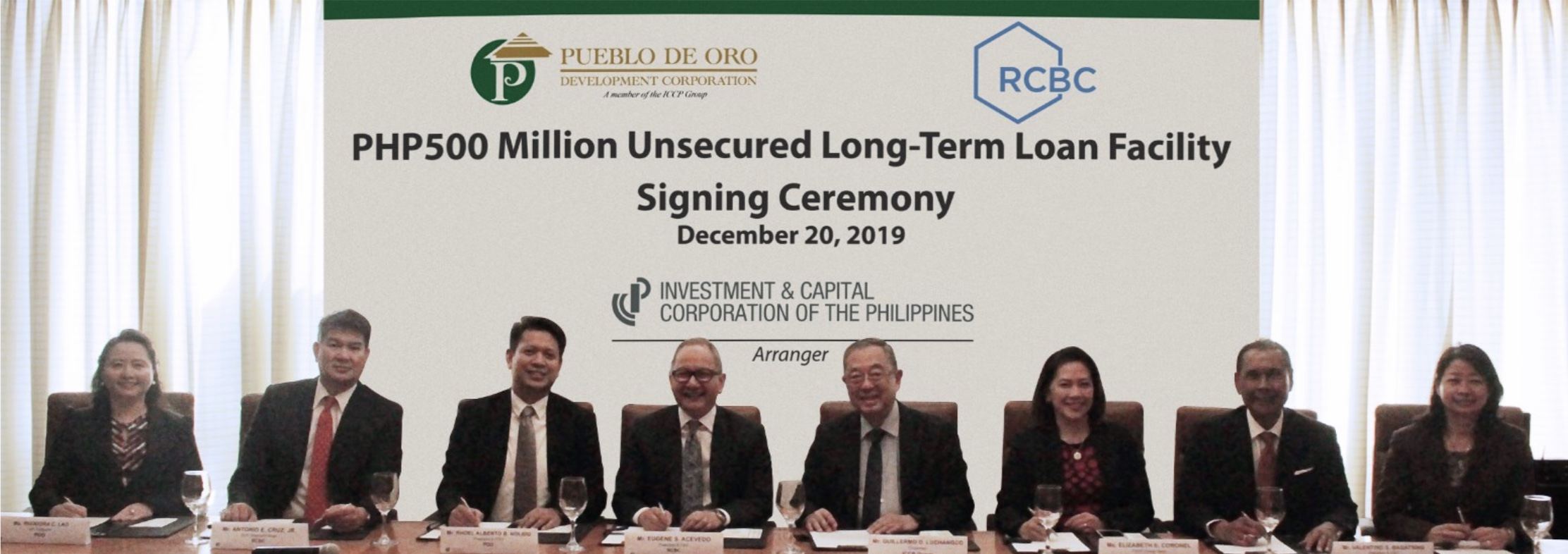 ICCP Arranges PH500M Term Loan for Pueblo de Oro