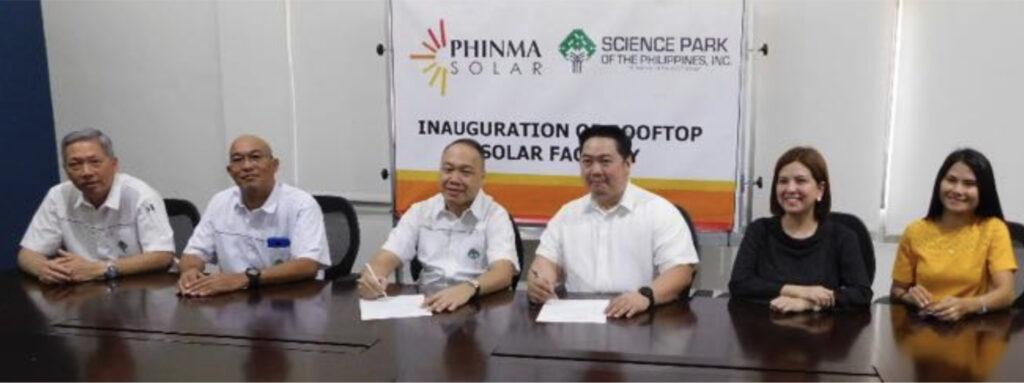 SPPI Draws on Solar Efficiency Signing photo