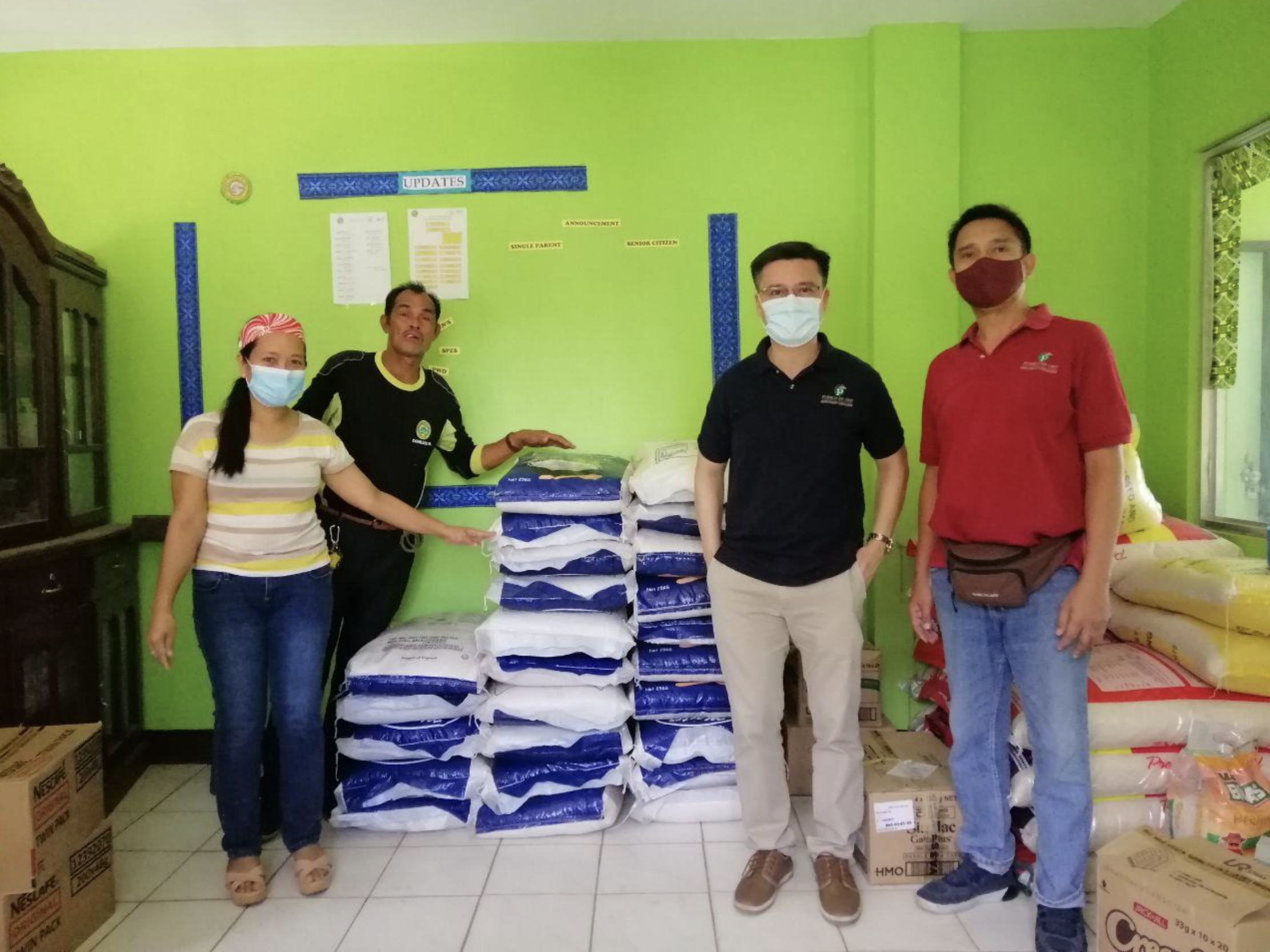 Pueblo de Oro Extends Donation Drives in Pampanga, CDO and Cebu
