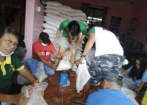 Rice Donation in Luzon and Cebu